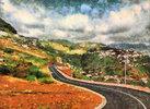 Road Through the Hillside