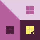 Home Sweet Home #1 (Magentas)