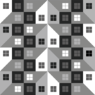 A Pattern of Houses #1