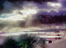 Storm Over Beach